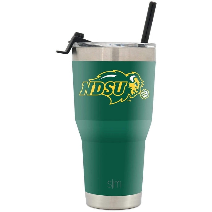 Cruiser Tumbler North Dakota State University 30oz Tumbler with Flip Lid & Straw
