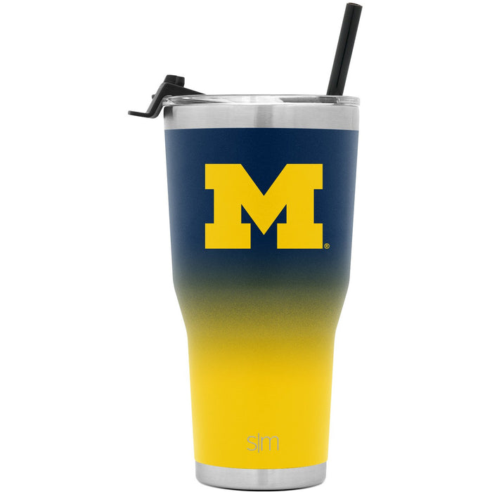 Collegiate Ombre Cruiser Tumbler with Flip Lid and Straw - 30oz