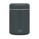 Graphite Food Jar Provision Food Jar with Stainless Lid - 12oz
