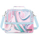 Pink Sea Marble Lunch Bag Myriad Lunch Bag - 8 Liter