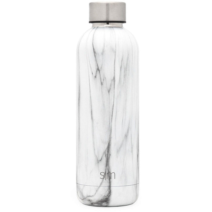 Carrara Marble Bolt Water Bottle Bolt Water Bottle - 17oz