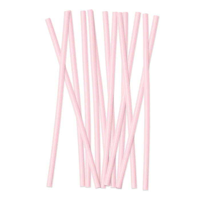 Plastic Reusable Drinking Straws 12-Pack