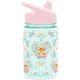 Fox and the Flower Summit Water Bottle Summit Kids Tritan Plastic Water Bottle with Sippy Lid - 12oz