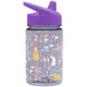 Woodland Friends Summit Water Bottle Summit Kids Tritan Plastic Water Bottle with Sippy Lid - 12oz