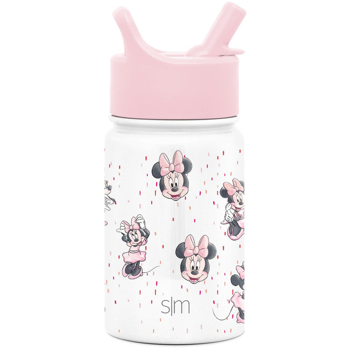 Disney Minnie Mouse Sprinkle Summit Water Bottle with Straw Lid Summit Kids Water Bottle with Straw Lid - 10oz