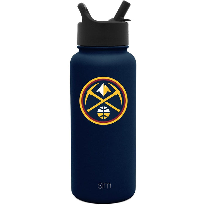 32oz Summit Water Bottle Denver Nuggets 32oz Summit Water Bottle with Straw Lid