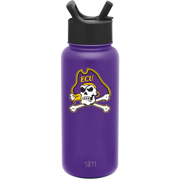 East Carolina Summit Water Bottle with Straw Lid - 32oz