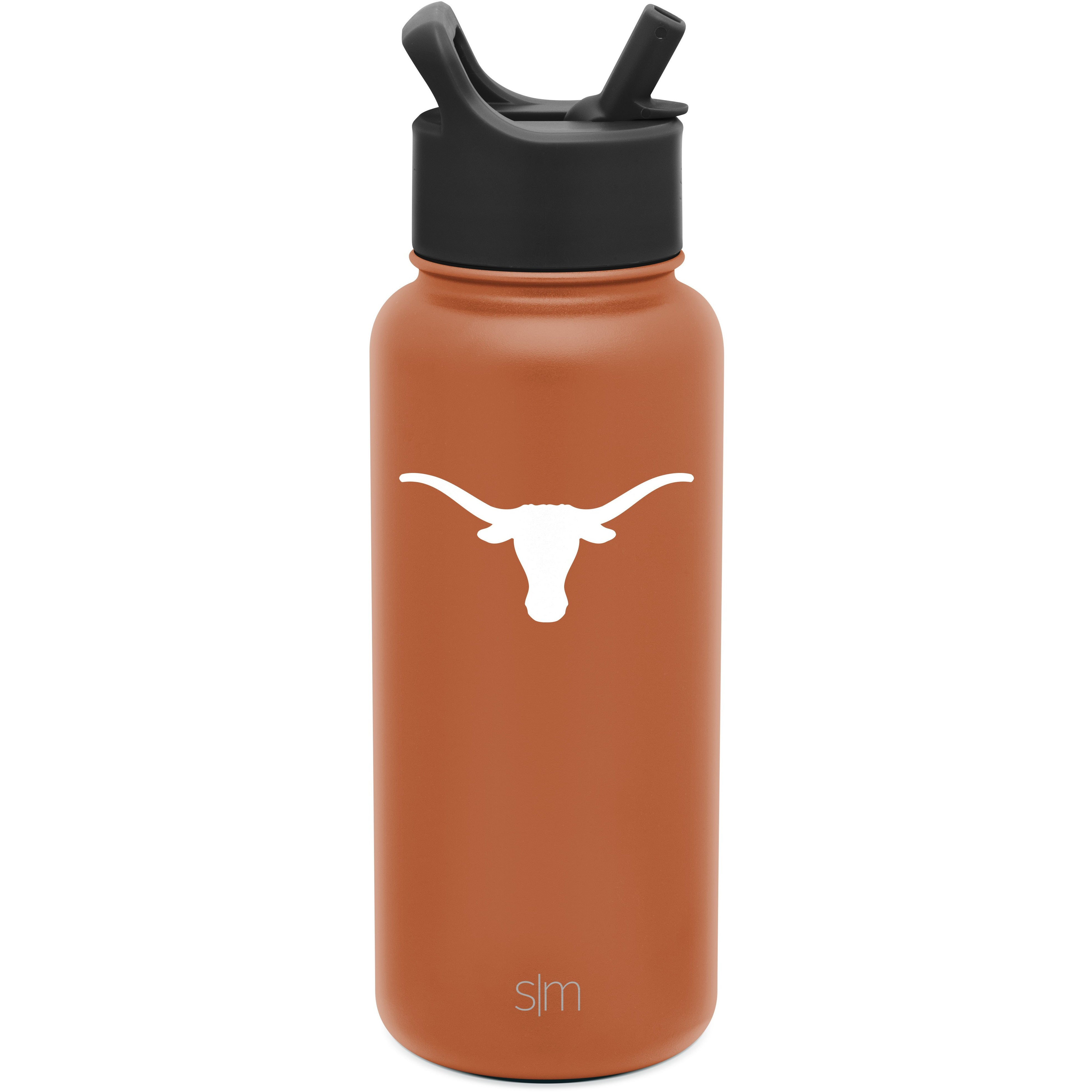 Simple Modern NCAA Boise State Broncos 32oz Water Bottle with Straw Lid Insulated Laser Engraved Summit