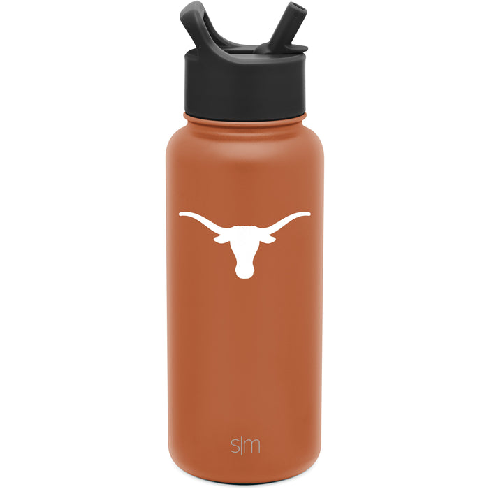 Collegiate Summit Water Bottle with Straw Lid - 32oz