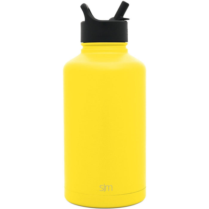 Sunshine Summit Water Bottle with Straw Lid Summit Water Bottle with Straw Lid - 64oz