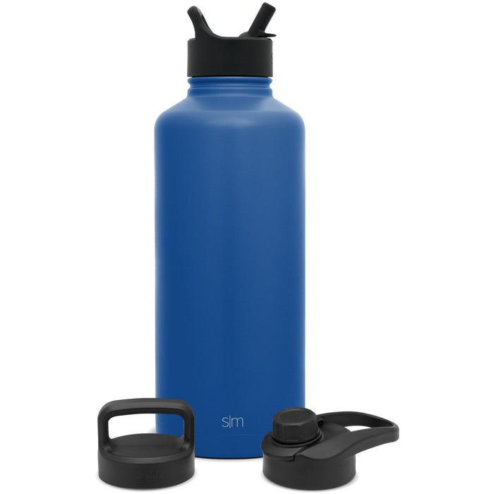 Summit Water Bottle with Straw Lid, Chug Lid, and Handle Lid - 84oz