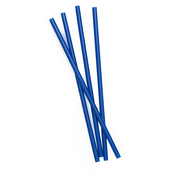 Plastic Reusable Drinking Straws 4-Pack