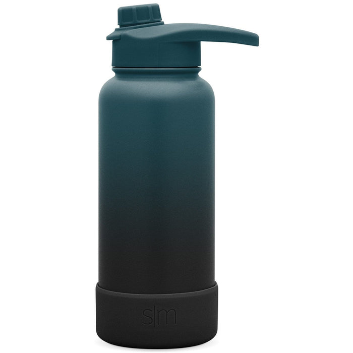 Summit Water Bottle with Chug Lid & Boot - 32oz