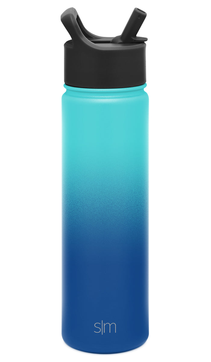 Summit Water Bottle with Straw Lid - 22oz