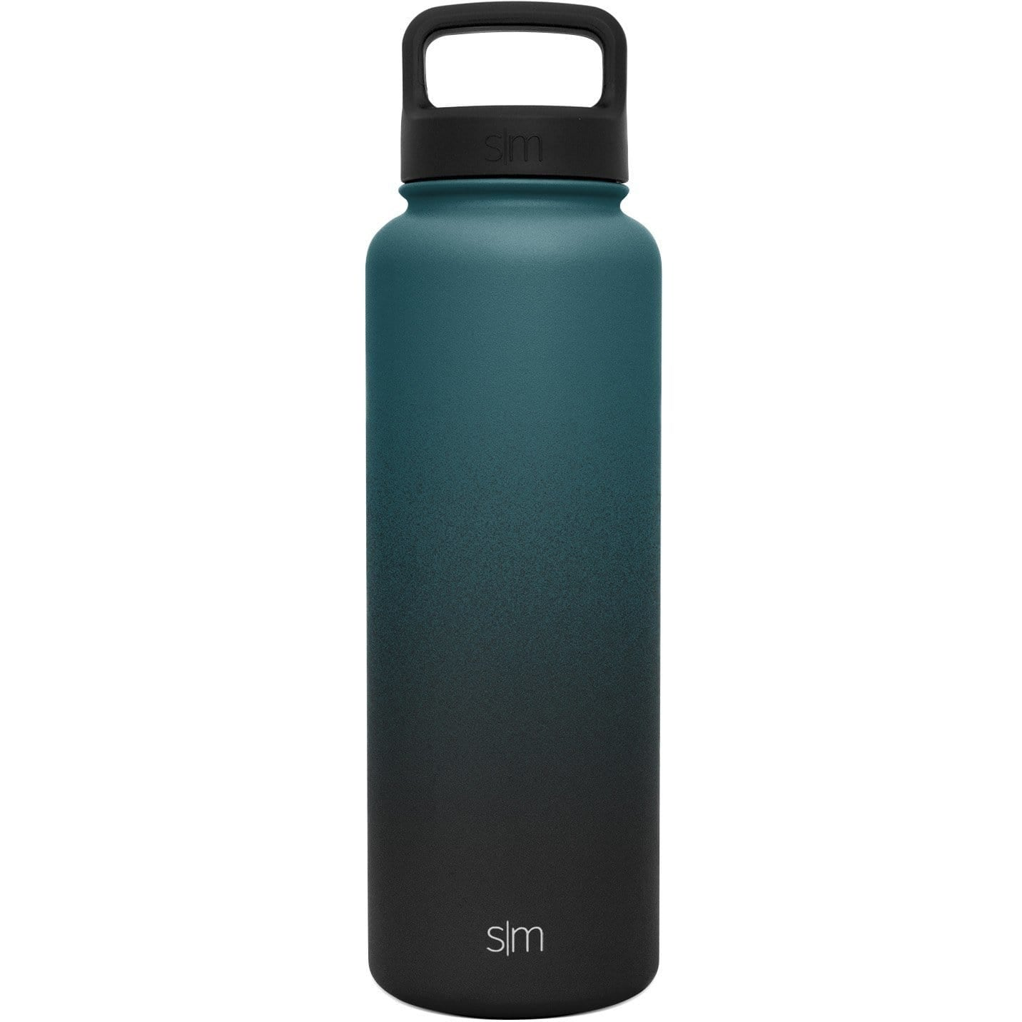 40oz Handle Lid Simple Modern Summit Water Bottle Deep Ocean