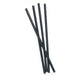 Graphite Straws Plastic Reusable Drinking Straws 4-Pack