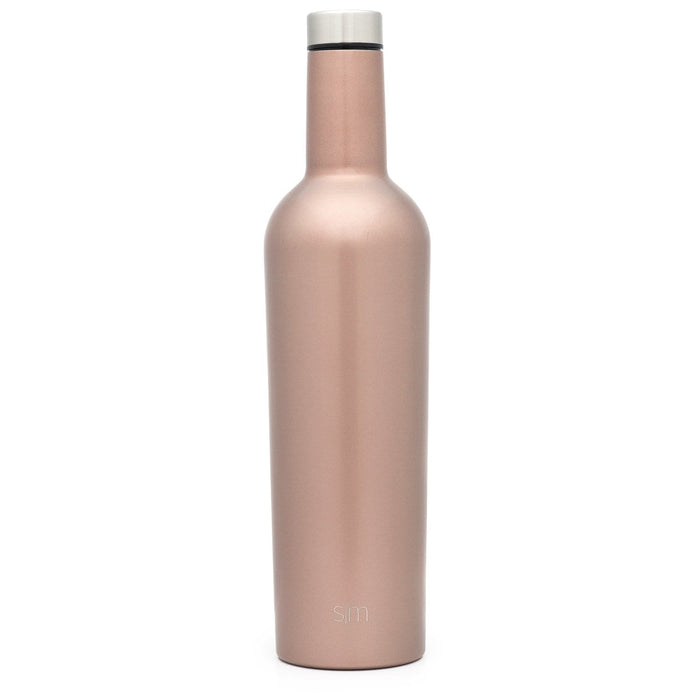 Rose Gold Spirit Wine Bottle Spirit Wine Bottle - 25oz