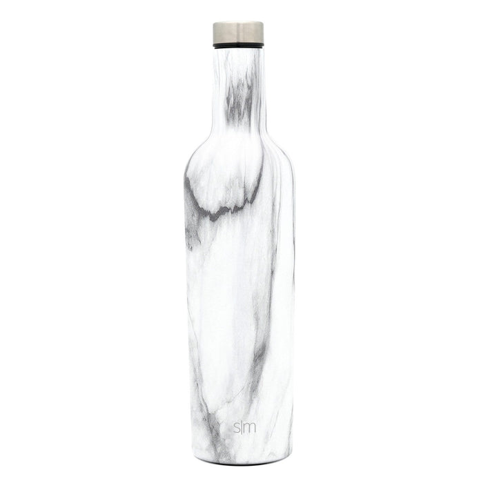 Carrara Marble Spirit Wine Bottle Spirit Wine Bottle - 25oz