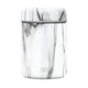 Carrara Marble Food Jar Provision Food Jar with Stainless Lid - 12oz