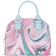 Pink Sea Marble Lunch Bag Very Mia Lunch Bag - 5 Liter