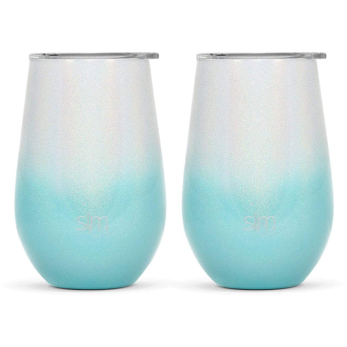 Diamond Turquoise Spirit Wine Tumbler Spirit Wine Tumbler Two-Pack - 12oz
