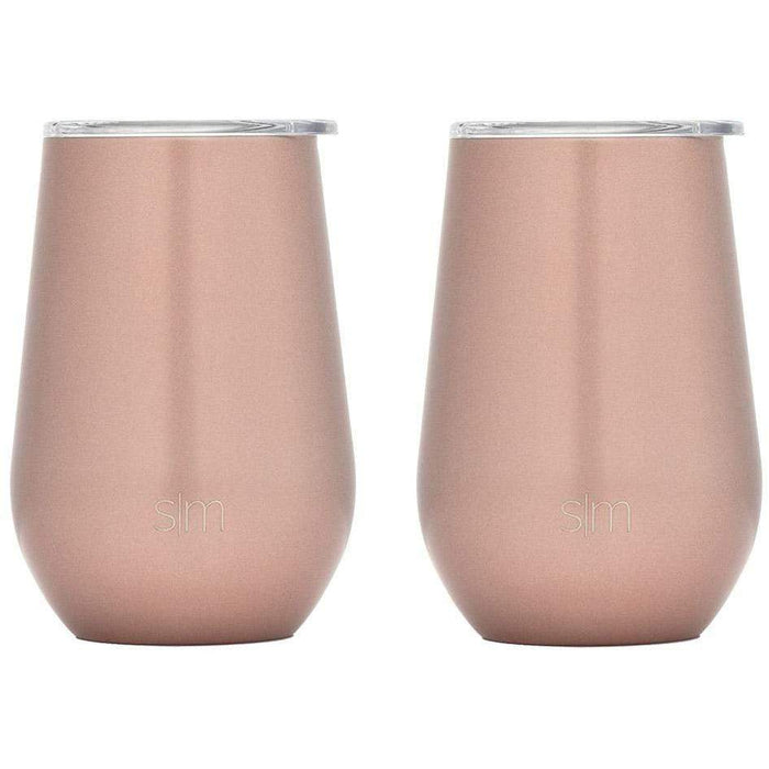 Rose Gold Spirit Wine Tumbler Spirit Wine Tumbler Two-Pack - 12oz