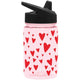 Hearts Summit Water Bottle Summit Kids Tritan Plastic Water Bottle with Sippy Lid - 12oz