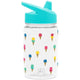 Ice Cream Cones Summit Water Bottle Summit Kids Tritan Plastic Water Bottle with Sippy Lid - 12oz
