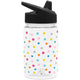 Polka Play Summit Water Bottle Summit Kids Tritan Plastic Water Bottle with Sippy Lid - 12oz