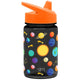 Solar System Summit Water Bottle Summit Kids Tritan Plastic Water Bottle with Sippy Lid - 12oz