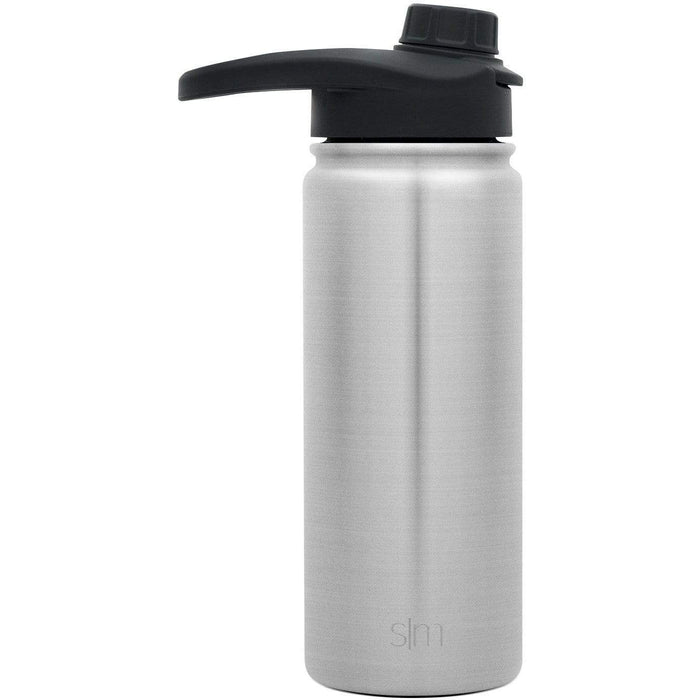 Simple Stainless Summit Water Bottle with Chug Lid Summit Water Bottle with Chug Lid - 18oz