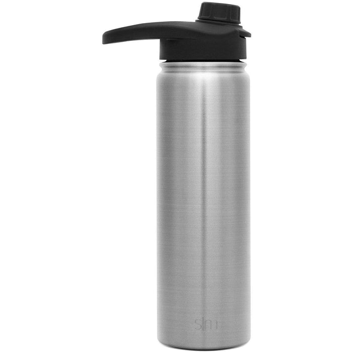 Simple Stainless Summit Water Bottle with Chug Lid Summit Water Bottle with Chug Lid - 22oz