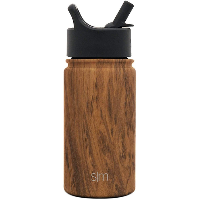 Wood Grain Summit Water Bottle with Straw Lid Summit Water Bottle with Straw Lid - 14oz