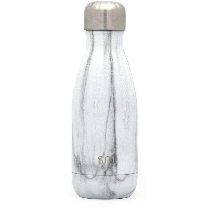 Carrara Marble Wave Water Bottle Wave Water Bottle - 9oz