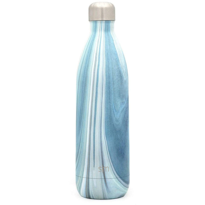 Ocean Quartz Wave Water Bottle Wave Water Bottle - 34oz