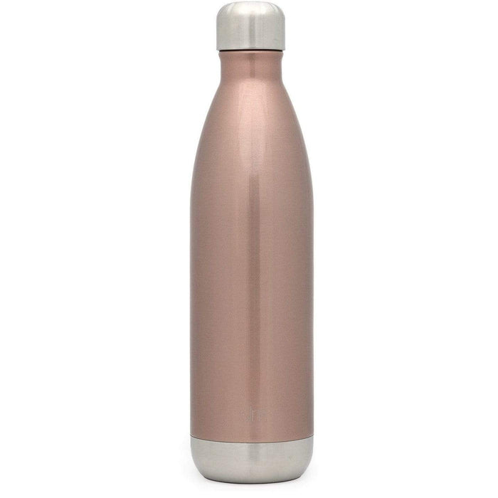 Rose Gold Wave Water Bottle Wave Water Bottle - 25oz