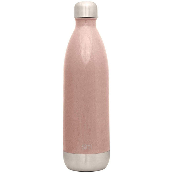 Rose Gold Wave Water Bottle Wave Water Bottle - 34oz