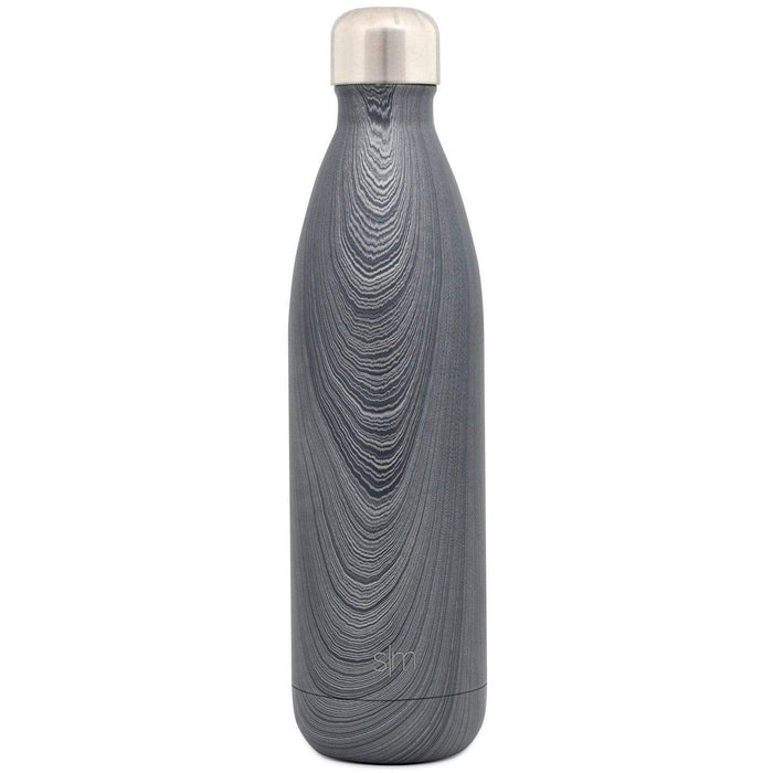 Silver Grain Wave Water Bottle Wave Water Bottle - 25oz