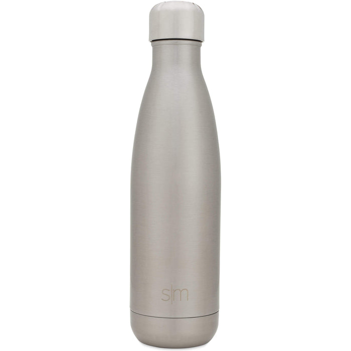 Simple Stainless Wave Water Bottle Wave Water Bottle - 17oz