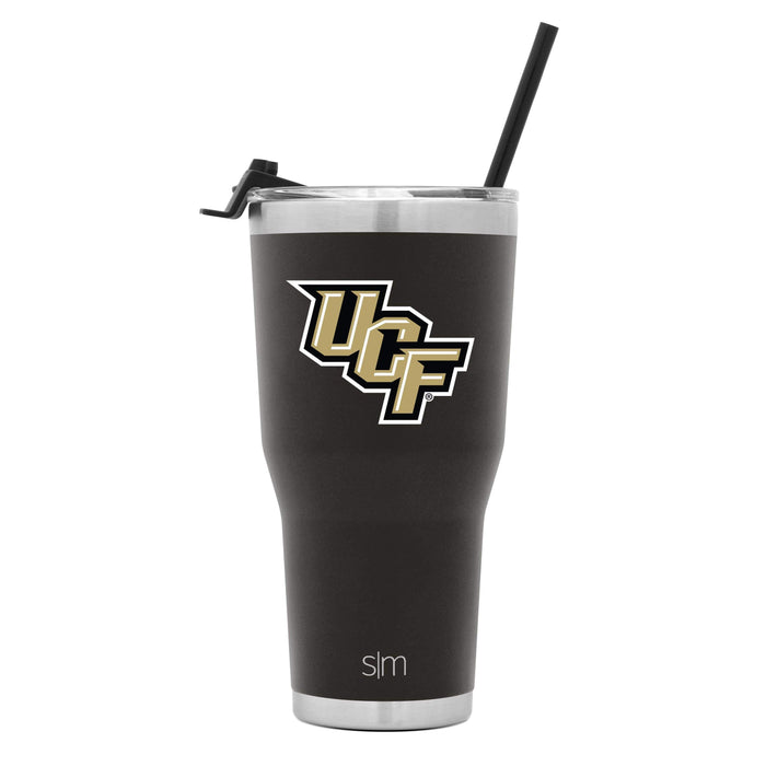 Cruiser Tumbler University of Central Florida 30oz Tumbler with Flip Lid & Straw