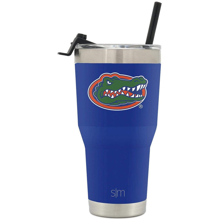 Cruiser Tumbler University of Florida 30oz Tumbler with Flip Lid & Straw