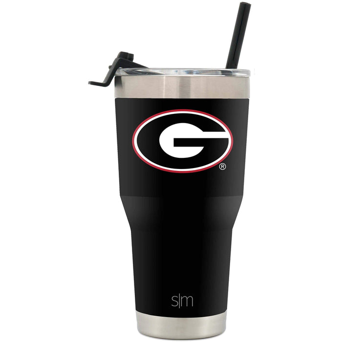 Cruiser Tumbler University of Georgia School Colors 30oz Tumbler with Straw