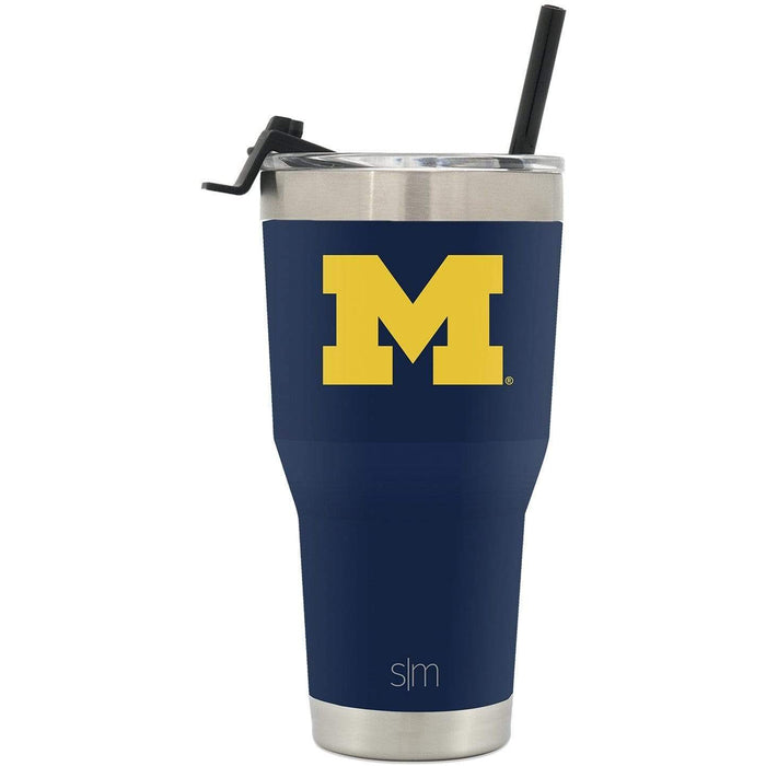 Cruiser Tumbler University of Michigan 30oz Tumbler with Flip Lid & Straw