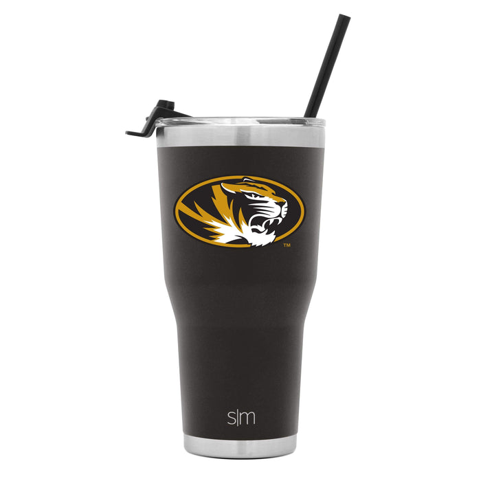 Cruiser Tumbler University of Missouri 30oz Tumbler with Flip Lid & Straw