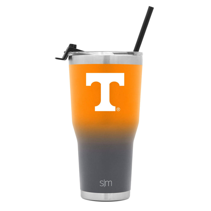 Cruiser Tumbler University of Tennessee Two-Tone Fusion Tumbler with Flip Lid & Straw - 30oz