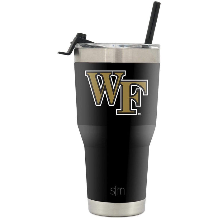 Cruiser Tumbler Wake Forest University 30oz Tumbler with Flip Lid & Straw