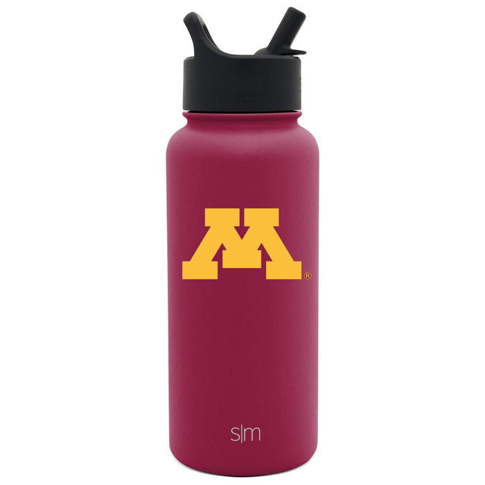 Summit Water Bottle University of Minnesota Summit Water Bottle with Straw Lid - 32oz