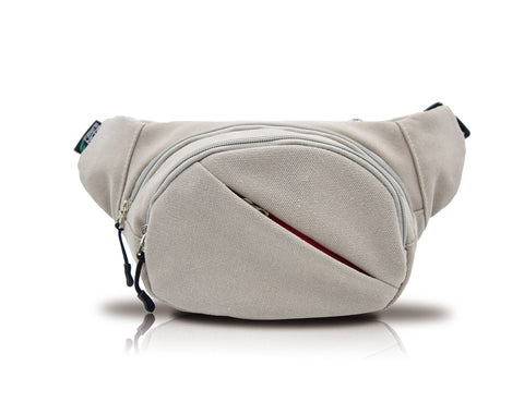 ADVENTURA Canvas Classic Travel Waist Fanny Pack