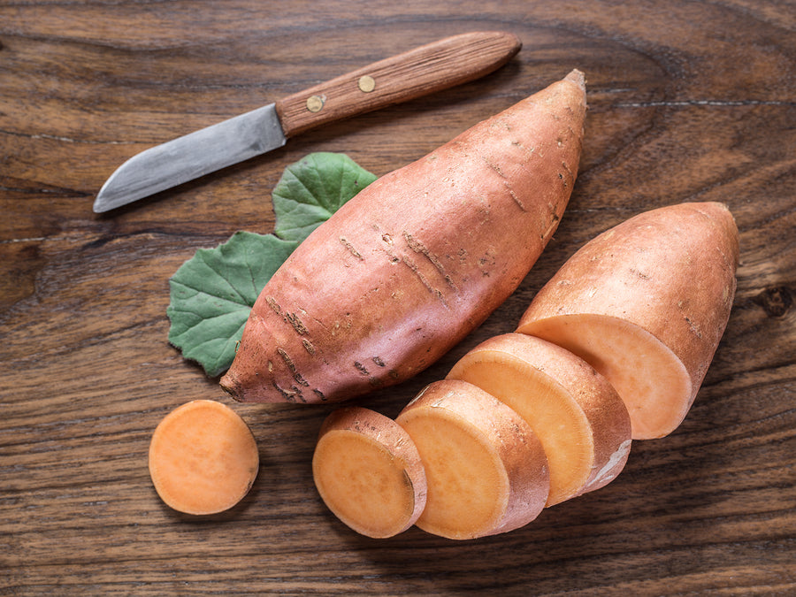 BABY FOOD RECIPES - Sweet Potato Puree (4 to 6 months)