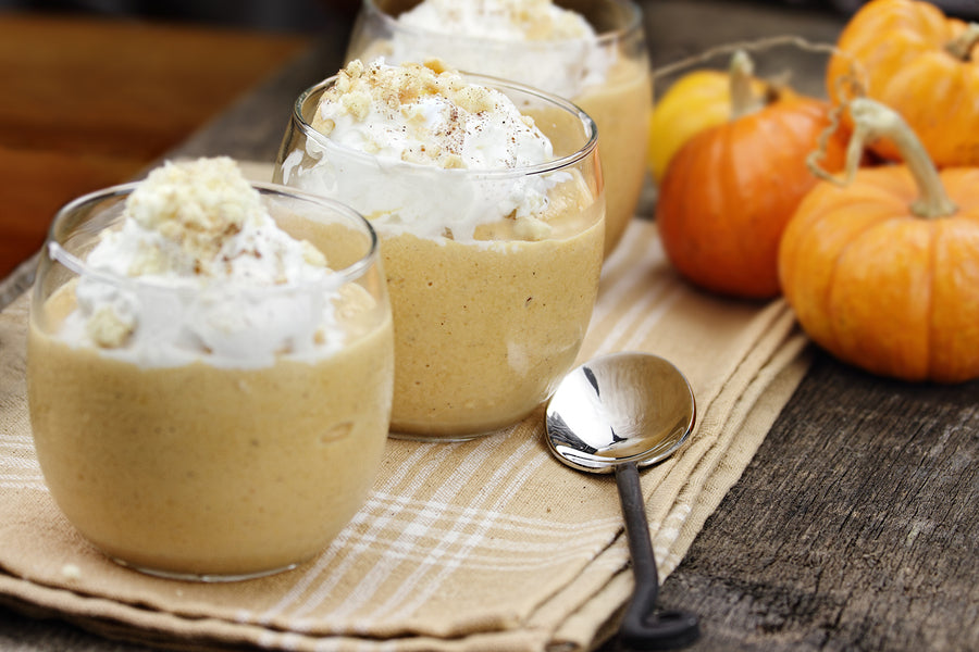 BABY FOOD RECIPES - Pumpkin Smoothie ( 8 to 12 months)